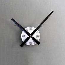 New 3D Wall Clock Metal 30cm DIY Modern Design For Home Quartz Decoration Watch Room Mute Saati Dropshipping