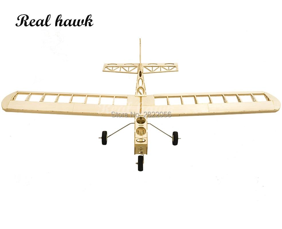 RC aviones corte láser Balsa Kit de avión de madera nube Dancer marco sin cubierta modelo Kit de construcción - 5