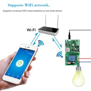 Image 2 - EWeLink USB DC5V 12 V 24 V 32 V RF 433 Mhz Wifi מתג אלחוטי ממסר חכם בית אוטומציה מודולים שליטה התקדם/עצמי נעילה