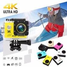 Winsoar SJ9000 Спорт действий dv, камера, регистратор HD 120 Wi Fi 2,0 Цвет серебристый, золотой синий розовый желтый белый черный водонепроница