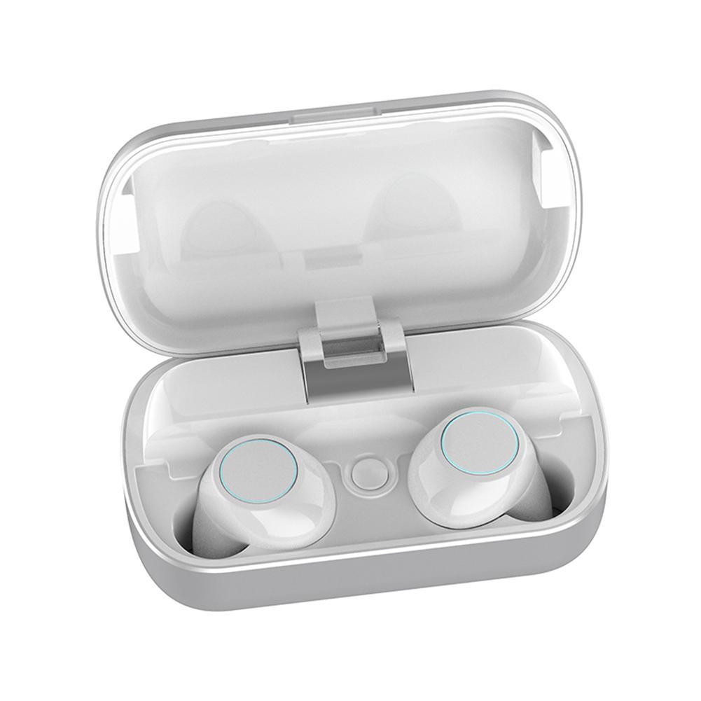T7 Bluetooth écouteurs TWS 5.0 Bluetooth casque sans fil Mini Binaural écouteurs intra-auriculaires connexion automatique sport stéréo écouteur