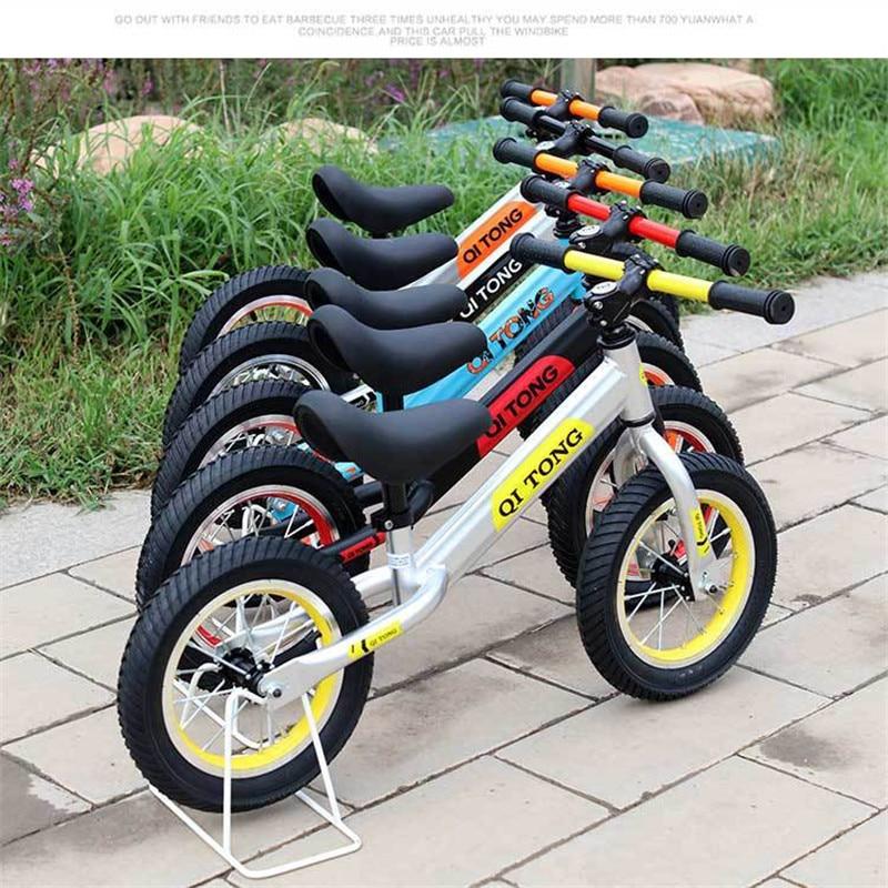 Детский горный велосипед детский баланс автомобиля без педали портативный Детский самокат От 2 до 6 лет скорость унисекс безопасность детский велосипед езда игрушки - 6