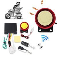 Motorcycle Siren Anti Theft Security Alarm System 125db Universal Motorbike Double Remote Control Engine|Motorcycle Burglar Alarm| |  -