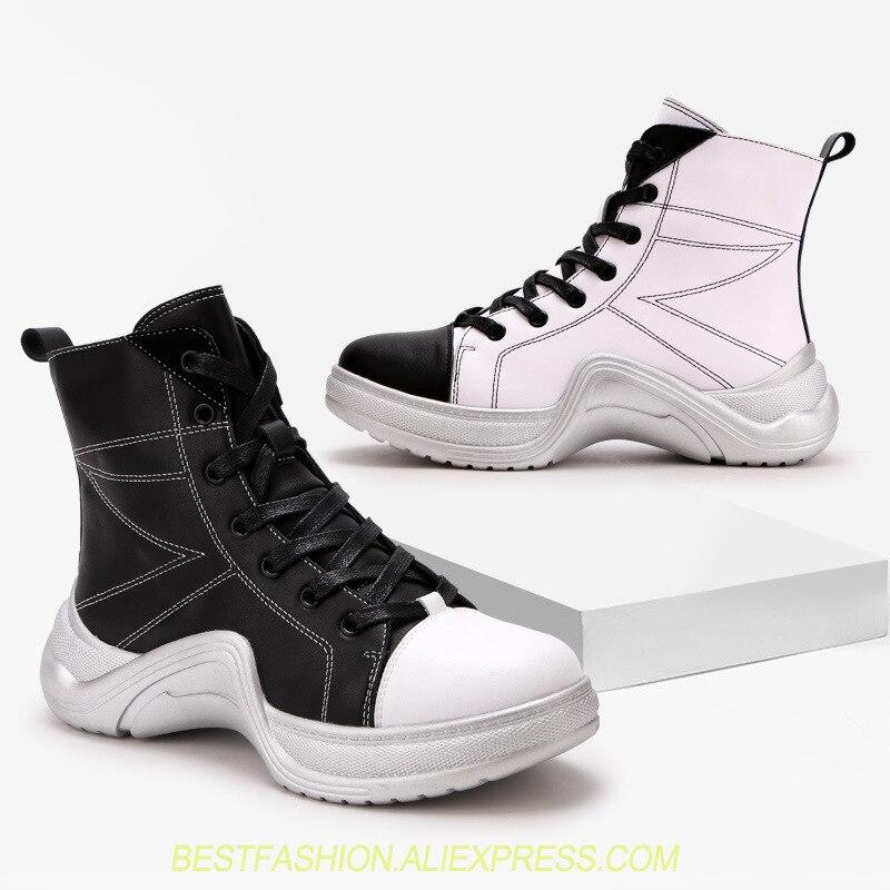 Chaussures As Plates as Baskets En Lacets Botte Montantes Marque Décontractées Picture Sneakers Picture Véritable Haute Archlight Femmes Top formes Femme Cuir À Courte uTOPikZX