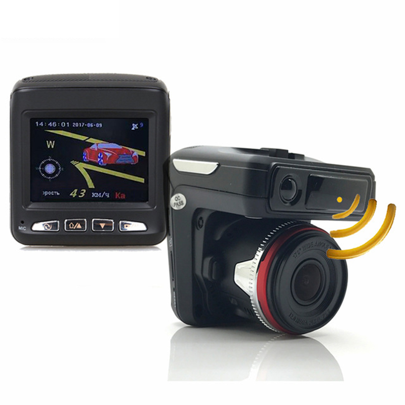 3 in 1 Car DVR Radar Detector GPS Tracker Car DVR Camera Driving Recorder Anti Radar Dash Cam Electronic Dog