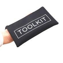 600D Oxford Cloth Tool Bag Storage Instrument Case Mini Tool Kit Bag19x11cm Universal Size Convenient Hand Tool Bag Pocket