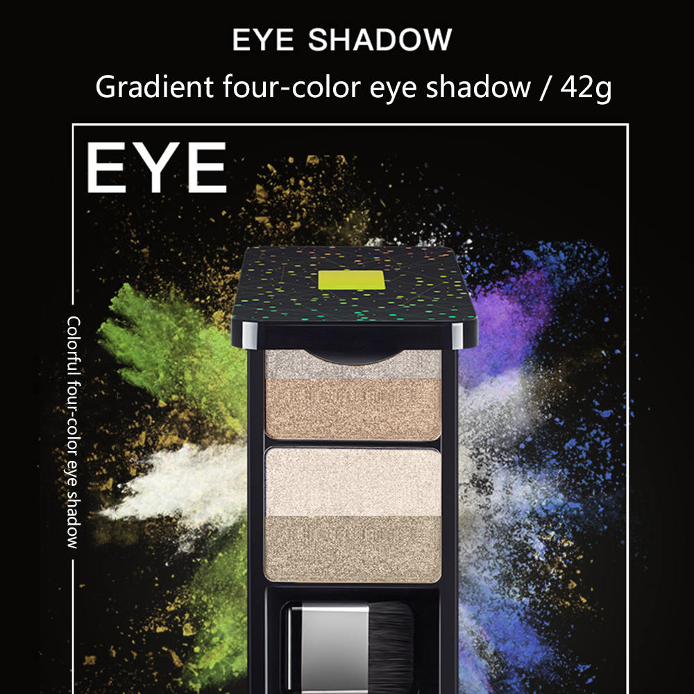 Eye Shadow Double-layer 9 Colors Make Up Gradient Lazy Eyeshadow Womens Makeup Cosmetic For Beauty
