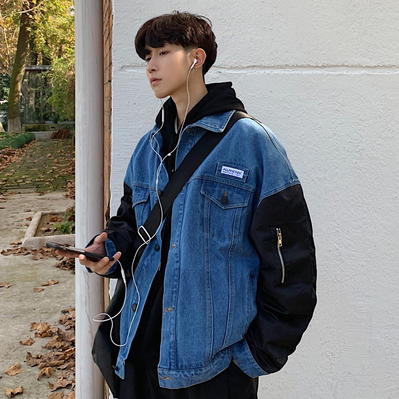 Conjuntos con chaqueta vaquera hombre