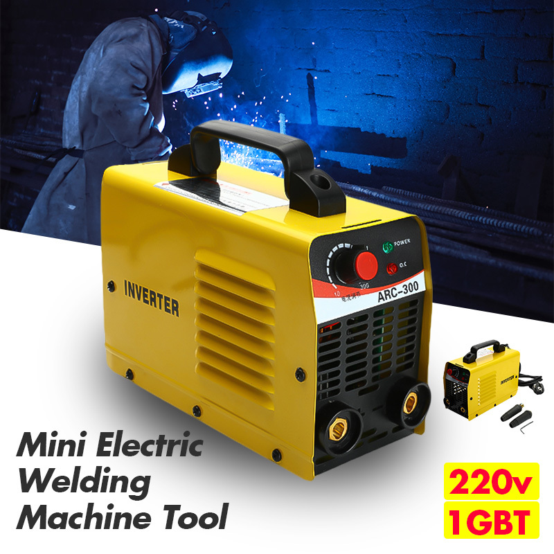 10-300A Handheld Mini MMA IGBT Inverter 220V Mini Electric ARC Welding Welder Inverter Machine Tool For Soldering10-300A Handheld Mini MMA IGBT Inverter 220V Mini Electric ARC Welding Welder Inverter Machine Tool For Soldering
