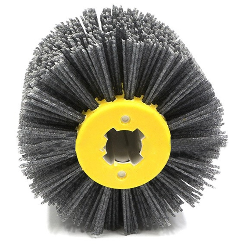 1 Pcs Nylon Abrasive Wire Dupont Drum Polishing Wheel Electric Brush For Woodworking Metalworking
