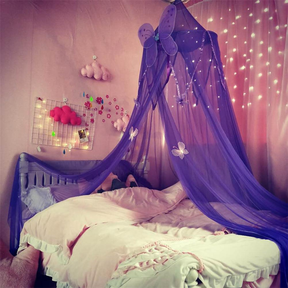 Baby Crib Netting Canopy Mosquito Net Anti Mosquito Princess Bed Canopy Girls Room Decoration Bed Canopy Pest Control Reject Net