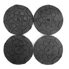 4Pcs Round Rubber Arm Pads for Car Auto Jacking Lift Dia 120mm Thick 25mm(China)
