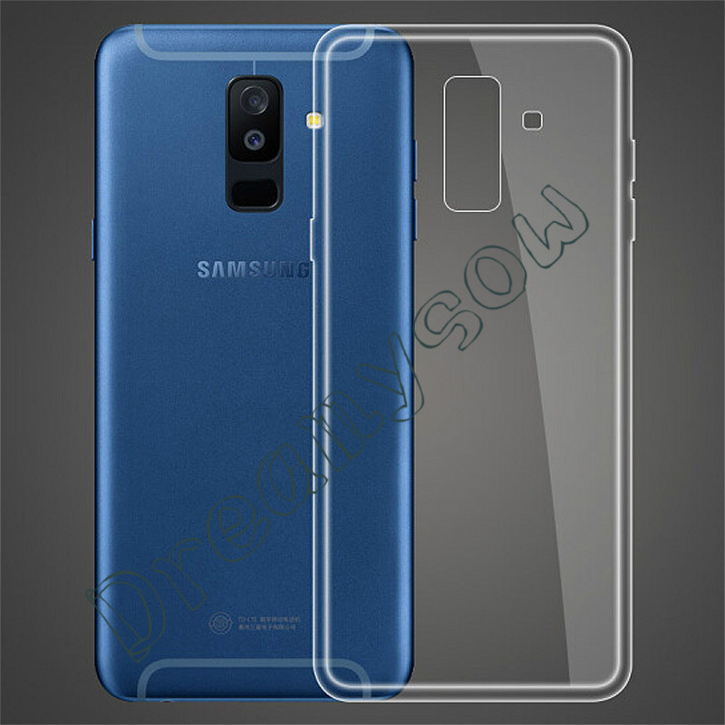 For Samsung Galaxy S10 E S6 S7 Edge S8 S9 J1 J2 J3 J4 J5 J6 J7 A3 A5 A6 A8 Plus A8 A750 2018 J7 2017 Plus C8 Clear TPU Cover