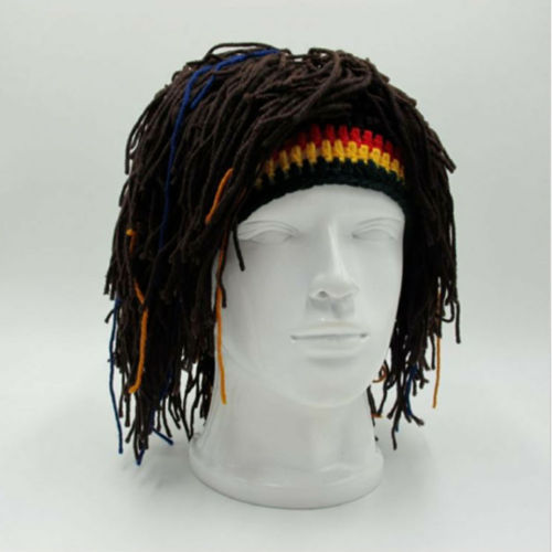 Reggae Dreadlocks Styled Knitted Beanie Caps & Beannies New In