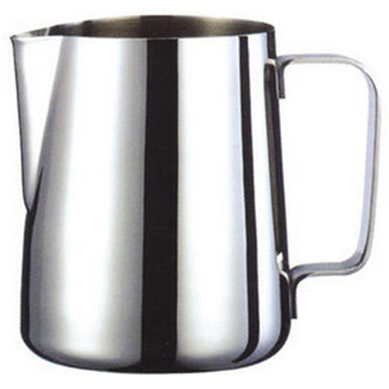 Jug Milk Pitcher Stainless Steel Bowls Frother Craft Coffee Latte Frothing Pitcher Latte Art (200ml)
