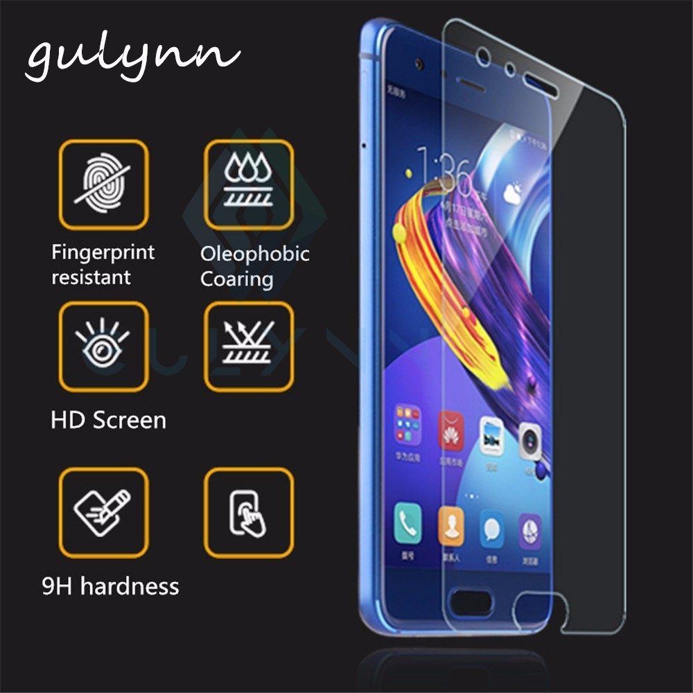 9H Protective Glass For Huawei P20 Lite Mate 10 20 Pro Tempered Glass For Huawei  Honor 10 V10 9 8X Lite Screen Protector Film