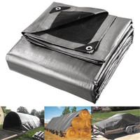 6x7.5m Tent Sunshade Car Vehicles Tarpaulin Outdoor Waterproof Sunscreen Cover Silicon Canvas