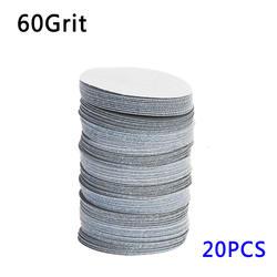 Высокое качество 20 шт. 75 мм 3 дюйма 40-3000 Грит шлифовальные диски шлифовальные полировальные колодки