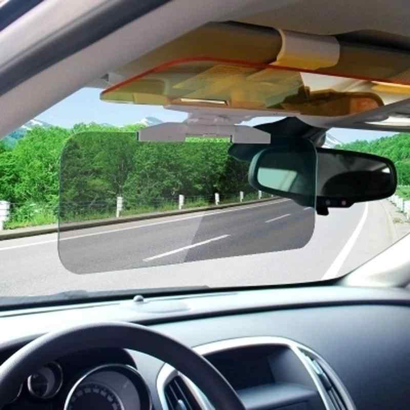 Автомобильный солнцезащитный HD Автомобильный антибликовый ослепительный Goggle День ночного видения водительское зеркало УФ складной Флип-вниз прозрачный вид козырек акция