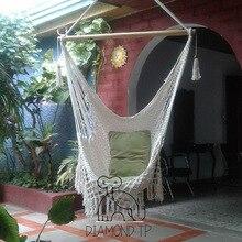 Домашняя ветряная хлопковая веревка, подвесное кресло, украшение для дома, уличная мебель, сеть, качели для отдыха, подвесное кресло, подвесная корзина