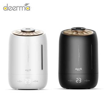 Xiaomi DEERMA DEM-F600 Household Air Humidifier Air Purifying Mist Maker Timing With Intelligent Touch Screen Adjustable Fog 5L