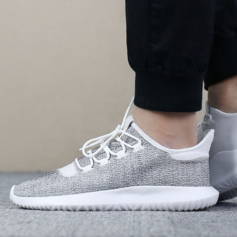low priced 7c7b3 a86de Original Adidas Originals TUBULAR SHADOW Men's Skateboarding Shoes Sneakers  Breathable Leisure Sports outdoor walking CQ0928