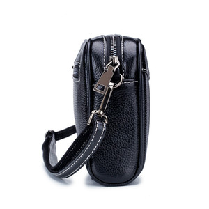Image 4 - Fashion Small Women Shoulder Bags Genuine Leather Womnens Massenger Bags Famous Brand Ladies Bags Mini Causal Crossbody Bags