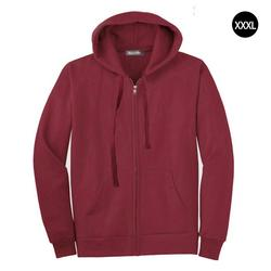 Men Full Zip Long Sleeved Hooded Sweatshirt Fashion Pure Color Autumn Winter All-match Clothes Coat Top Hoodies Men 5