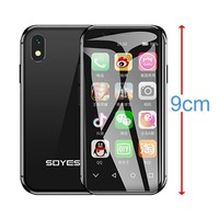 SOYES XS 3.0 smallest small unlocked super mini android smart phone android 6.0 4G Mobile phone 2GB+16GB Quad Core Smartphone