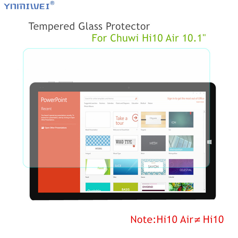 Glass Protector For CHUWI Hi10 Air Tempered Glass Protector Scratch-Resistant 0.3mm For Chuwi Hi10 Air 10.1 Tablet Glass Films