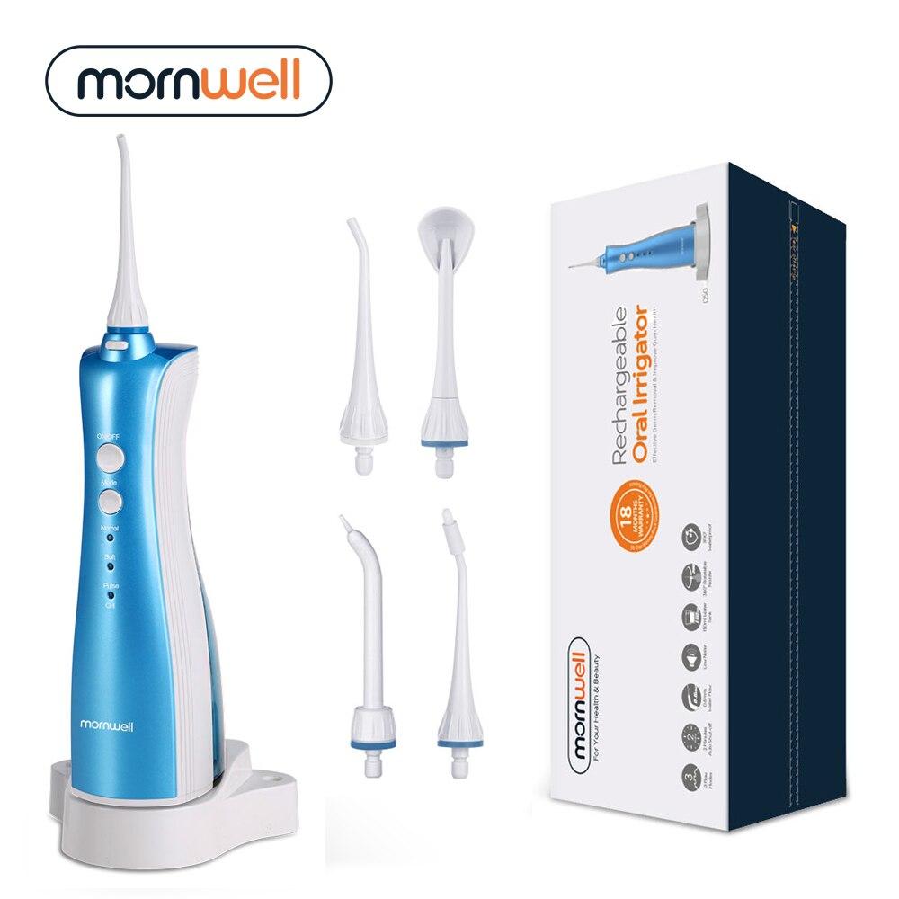 Irrigador Oral recargable agua hilo dental limpieza portátil chorro de agua inductivo irrigador dental exquisito