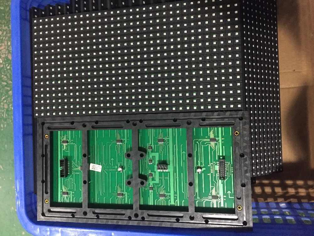 شحن مجاني 20 قطعة p10 في الهواء الطلق الصمام عرض اللون الأصفر SMD p10 وحدة عرض + 2 قطعة امدادات الطاقة + wifi بطاقة وحدة التحكم