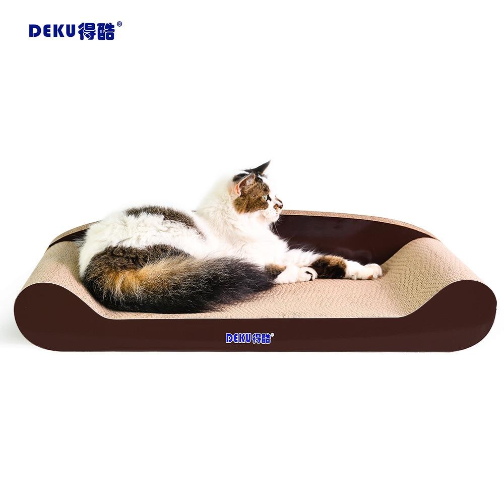 Multi-taille canapé chat tableau à gratter griffe conseil chat jouet nécessités quotidiennes chat canapé grippage conseil tapis Pad Durable fournitures pour animaux de compagnie