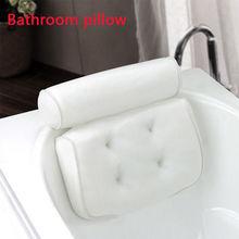 3D сетка спа нескользящая Мягкая Ванна ванна спа Подушка Ванна подголовник подушка с присосками для шеи и спины ванная комната поставка