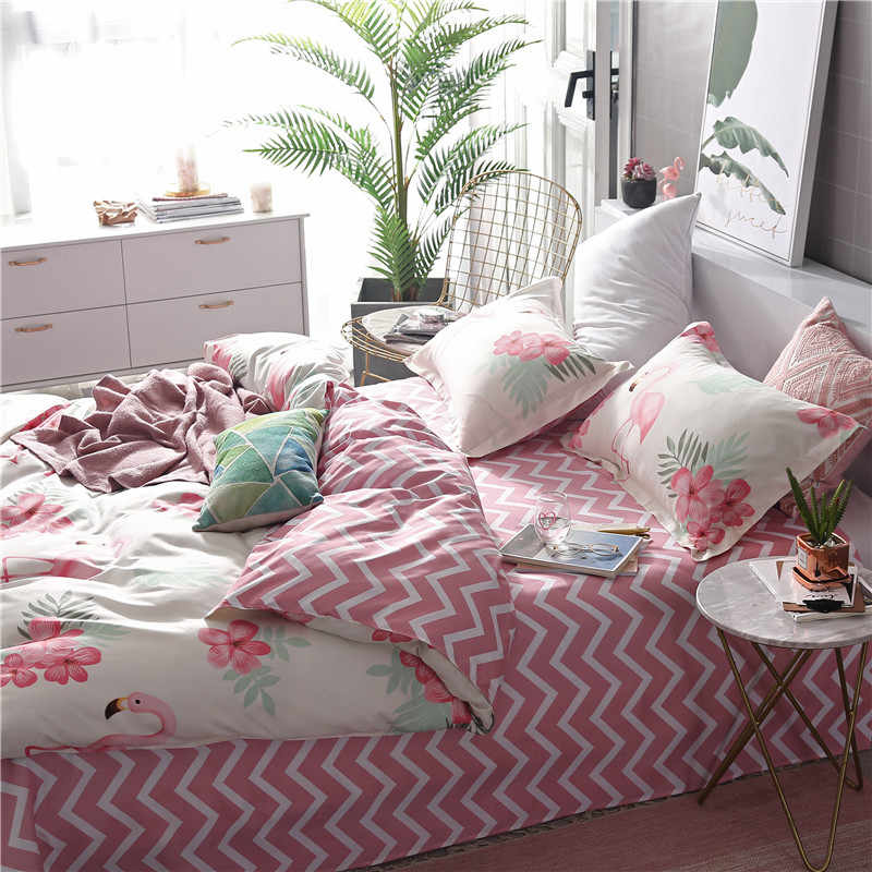 Bedding Set 3D Double Bed Sheet Comforter Duvet Cover Bedspread Bedclothes Adult Queen King Size Linens