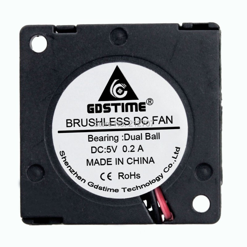 30mm 30x30x10mm 12V 2Pin Ball Bearing Small Turbo Motor Blower Fan Laptop Cooler