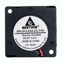 Gdstime 30mm 3cm DC 5V 0.2A Mini Blower Turbo Cooling Fans