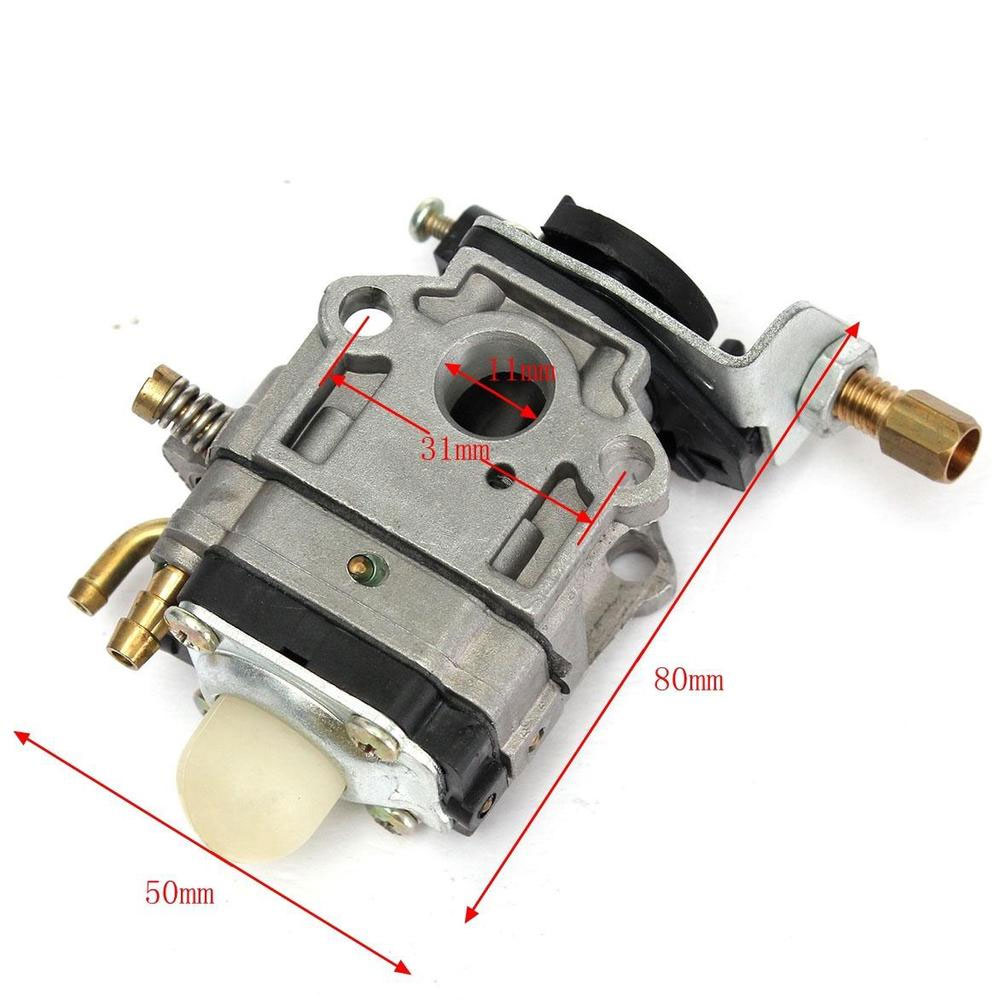 Image 5 - Carb Carburetor 11mm Hedge trimmer Brush Cutter Chainsaw Lawn Mower Gasoline Two stroke Carburetor MP15-in Carburetor Parts from Automobiles & Motorcycles