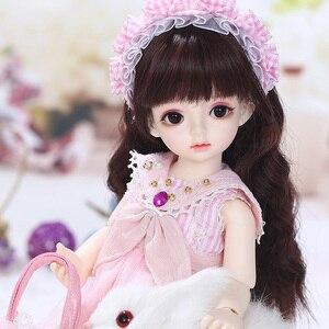 Image 2 - Имбирные куклы Miadoll BJD SD, модель тела 1/6, полный комплект с волосами, одежда, обувь, аксессуары, шарнирная кукла