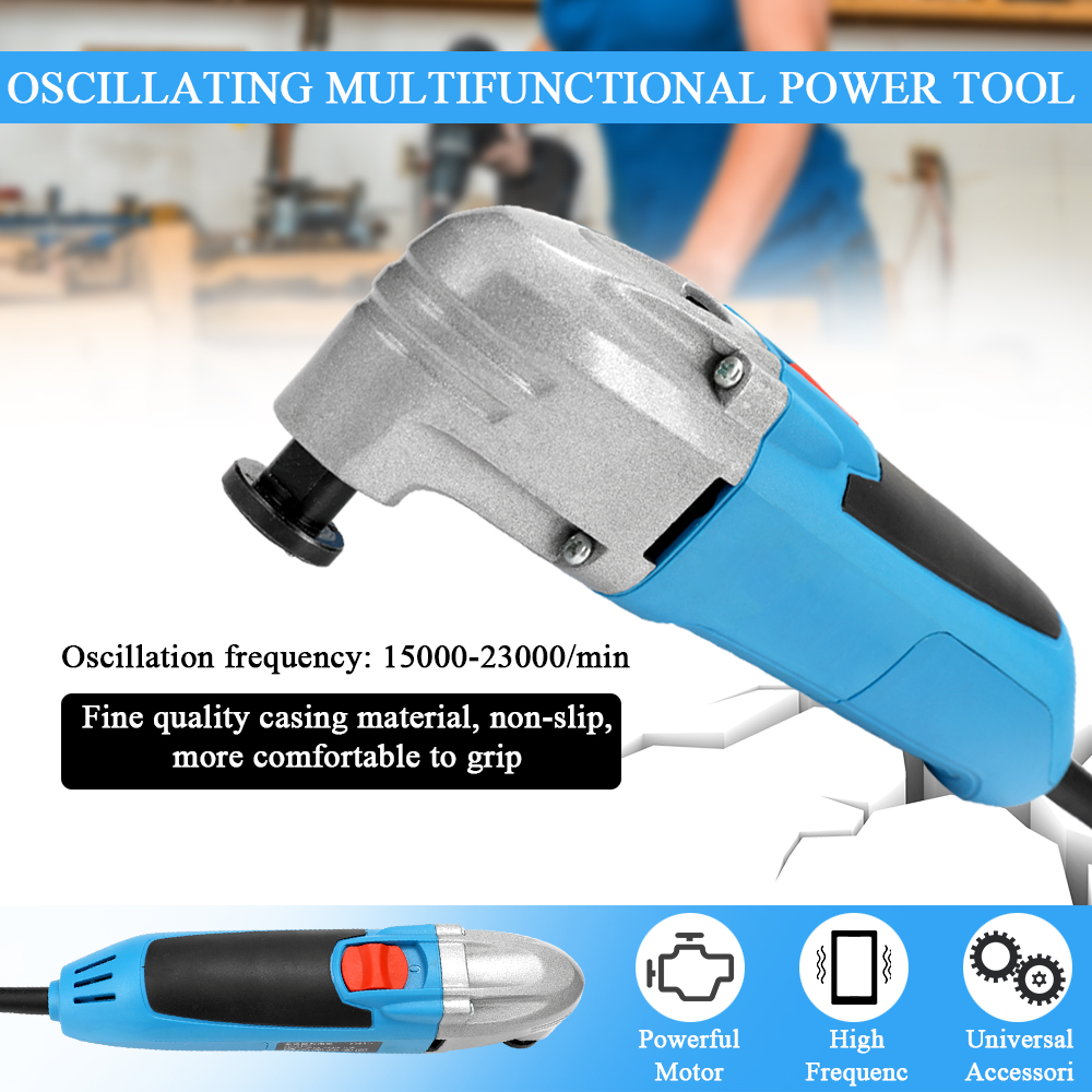 Multifunctional Trimming Machine Oscillating Power Tool Electric Trimmer Polishing Machines Electric Trimmer Saw Accessories