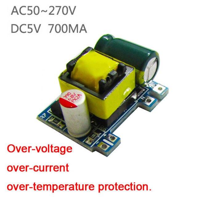 Mini AC-DC Converter 110V 120V 220V 230V to 5V 3.5W 700MA Board Isolated Switching Power Supply Module