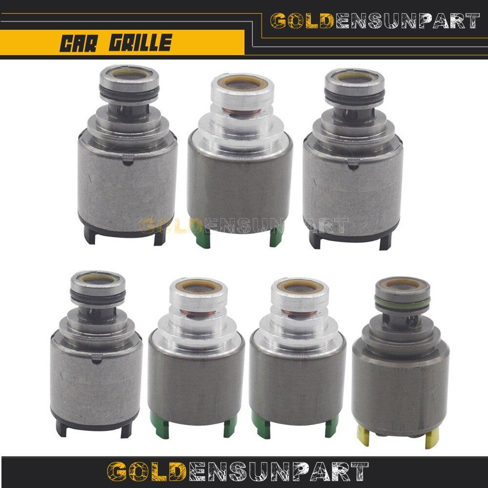 7PCS Getestet Original 5HP19 ZF1068298035 Druckregler Übertragung Shift Solenoids für BMW AUDI A6 A8 S4 S6/RS6 prosche