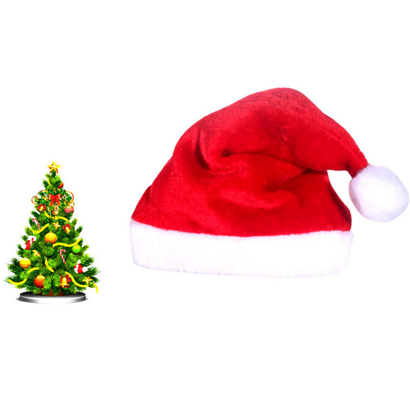 Unisex Father Christmas Long Hat XMAS Santa Family Hats Gift For Adult//Kid//baby
