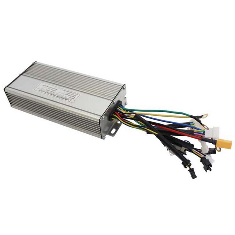 1pc 36V/48V 750W/1000W 12 Tube 26A Brushless Imitation Torque Sine Wave Controller