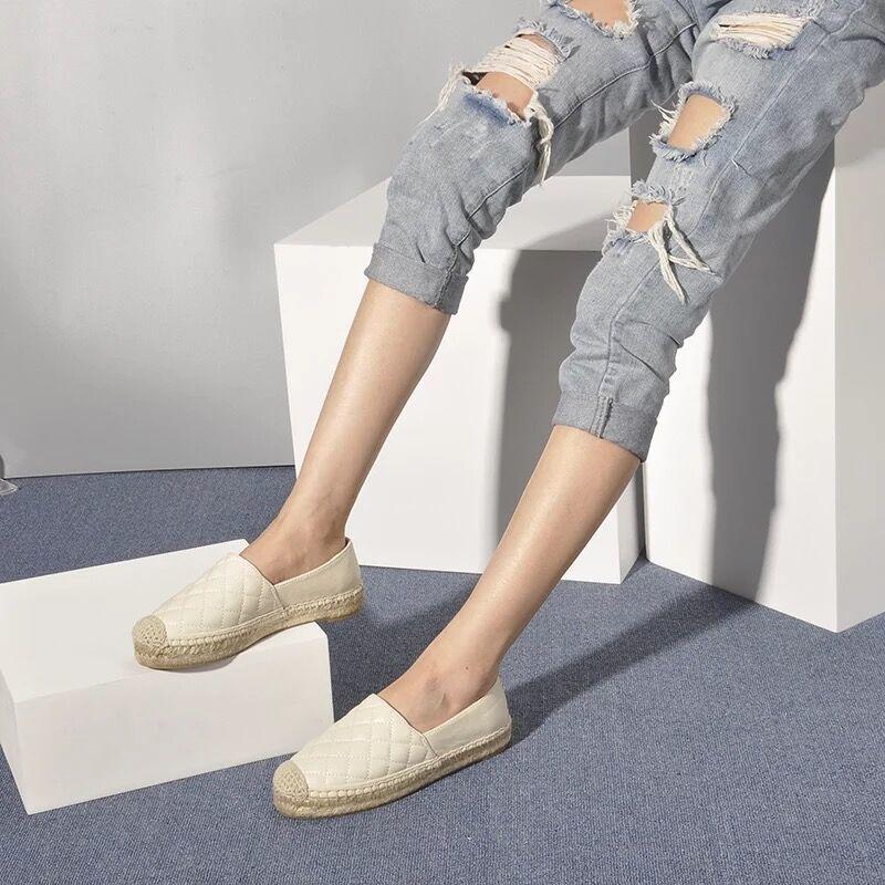 Appartements apricot Printemps Black Réel Femmes Sans white Qualité Dessus De Femme Chaussures Plage Cuir Lacets Boerenbont Marque Mocassins Pour pTw7Hpaq