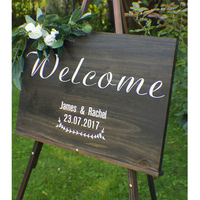 Custom Wedding welcome sign, rustic wood welcome wedding sign, engagement photo prop, wooden sign, home sign, wall hanging