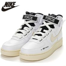 Nike Air Force 1 Original Women's Skateboarding Shoes Function High Help Cream Comfortable Breathable Sneakers #AJ7311-100(China)