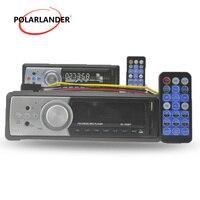 MP3 MMC WMA Radio Player Remote Control Aux Input FM Receiver 1 DIN In Dash USB/SD/MMCCardReader Car Audio Stereo Bluetooth