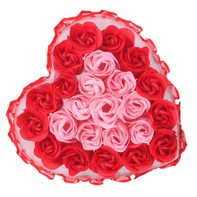 Beautiful Soap Flower Romantic Decorative Rose Artificial For ValentineS Day 5 Colors Can Choose