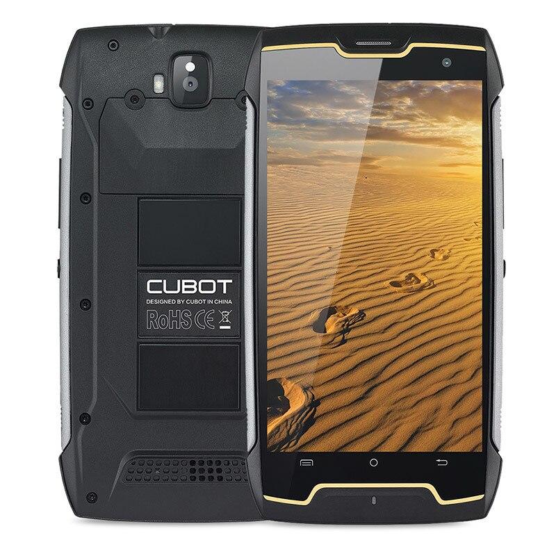 Cubot Kingkong IP68 étanche antichoc téléphone portable 5.0 MT6580 Quad Core Android 7.0 Smartphone 2GB RAM 16GB ROM téléphones portables - 2